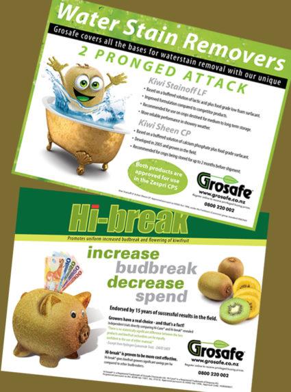 Grosafe Kiwifruit Journal Advertisements