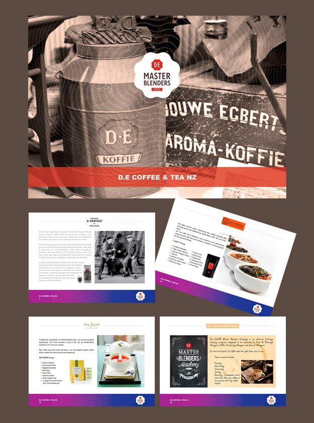 JDE Coffee brochure