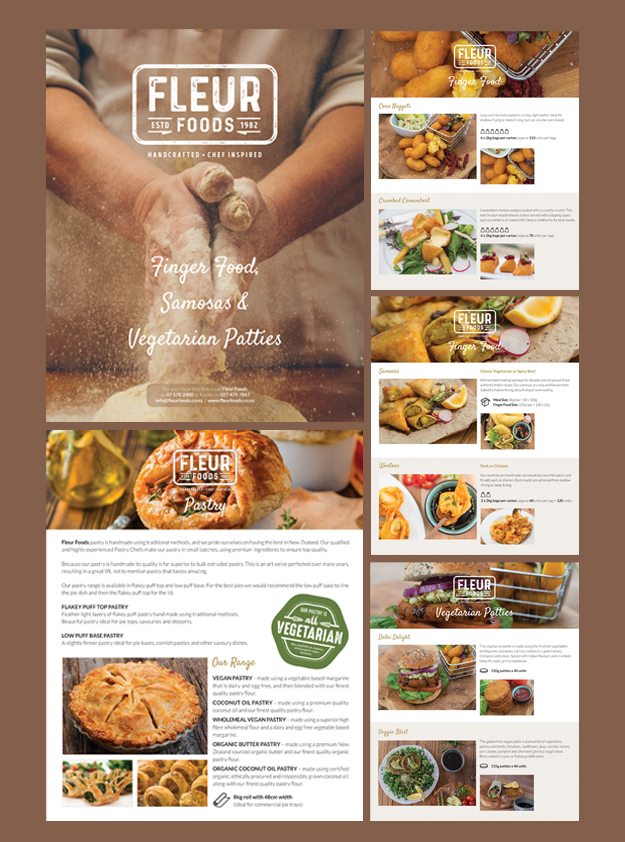 Fleur Foods product brochure