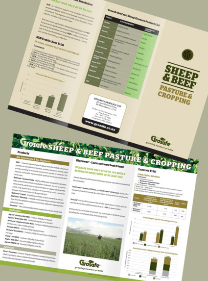 Grosafe Sheep & Beef Pasture & Cropping Flyer