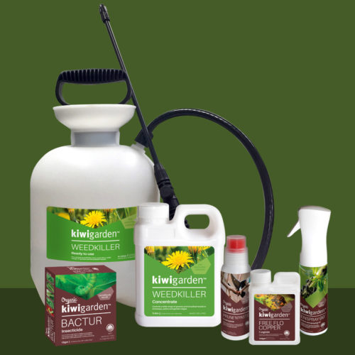kiwigarden Warehouse Spray Range