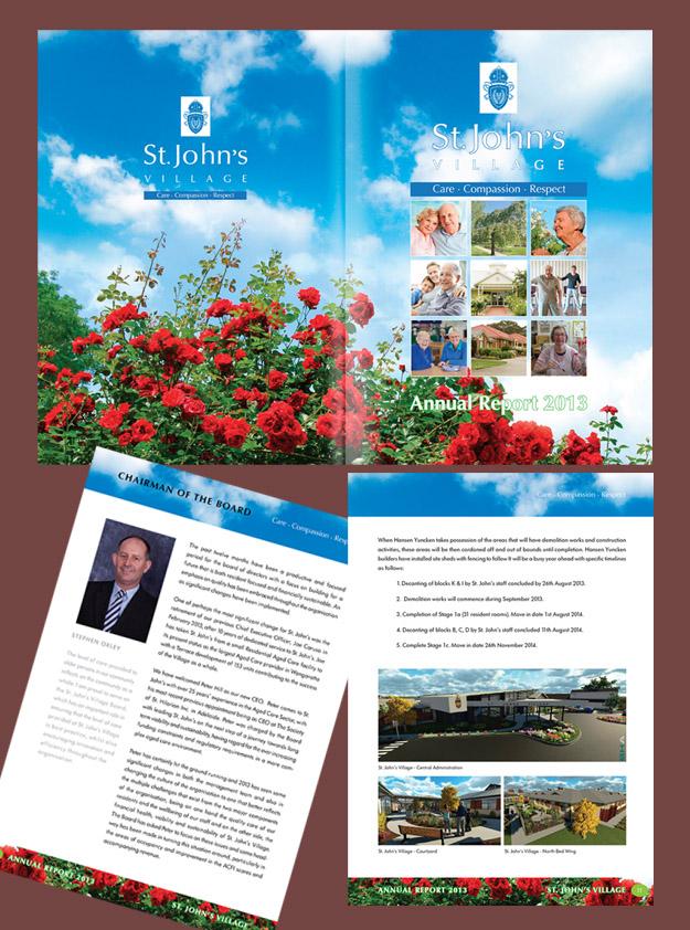 St Johns Village Victoria Australia Annual Report