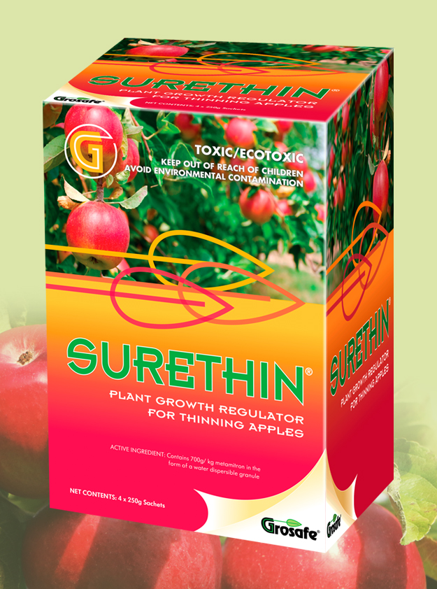 Grosafe Surethin packaging